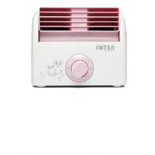 Foten Mini Air Cooler Fan - Pink