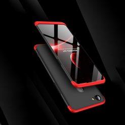 GKK Oppo F7 360 Full Protection Case - Red