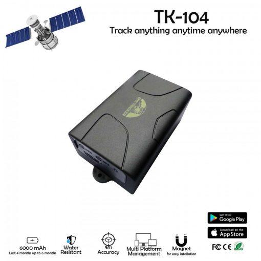 GSM GPRS GPS Portable Vehicle Tracking System TK104 - Black