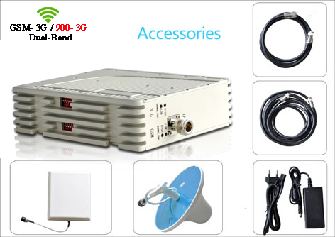 GSM900 UMTS 3G Dual Band Signal Booster Repeater Amplifier