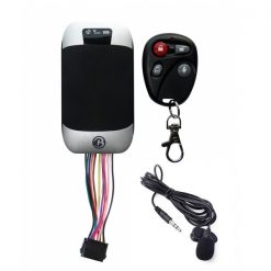 GSM GPS Motorcycle Vehicle Tracker Surveillance Monitor - Black