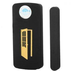 GSM SIM BAse Reporting Magnetic Door Alarm - Black