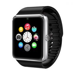 Bluetooth Smart Watch Phone With Sim Slot – Black