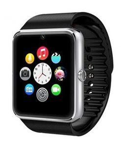 Bluetooth Smart Watch Phone With Sim Slot – Black