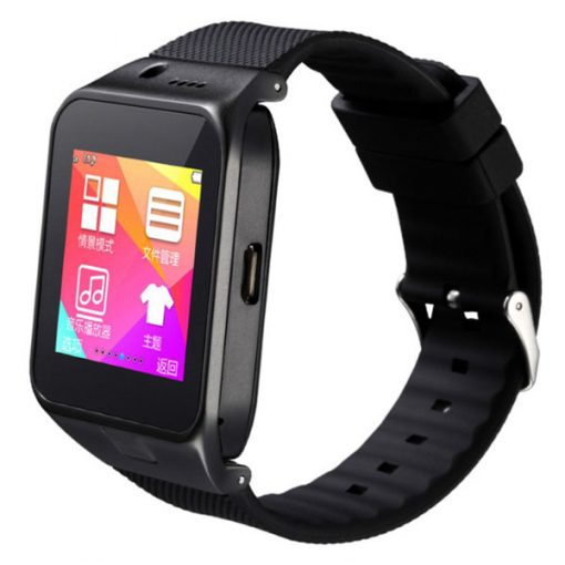Bluetooth 3.0 Touch Screen Smart Watch - Black