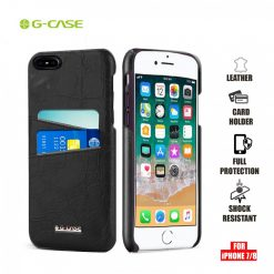 Gcase Koco Series Protective Shell Case for iPhone 7 and 8 - Black