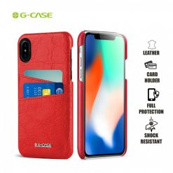 Gcase Koco Series Protective Shell Case for iPhone X - Red