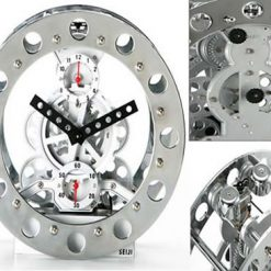 Mechanical Gear Alarm Clock