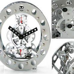 Mechanical Gear Alarm Clock