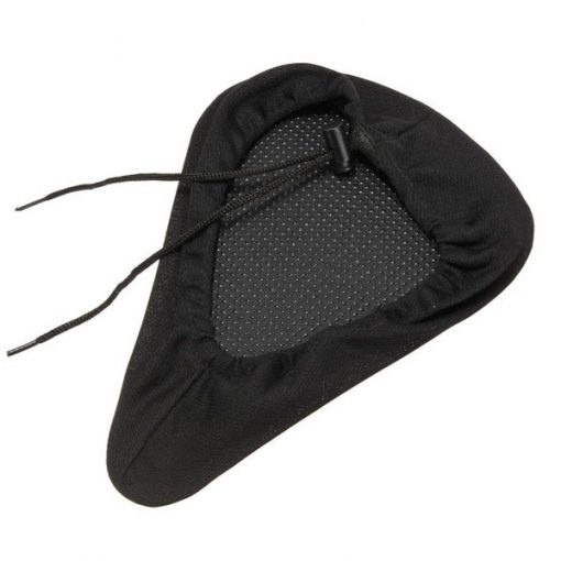 Gel Bike Seat Cover - Black
