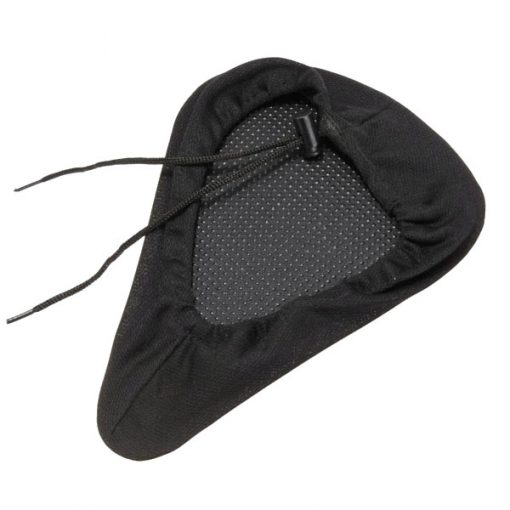 Gel Durable Bicycle Comfortable Seat Cover - Black