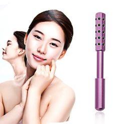 Germanium Beauty Face Massager Roller - Pink