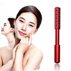 Germanium Beauty Face Massage Roller- Red