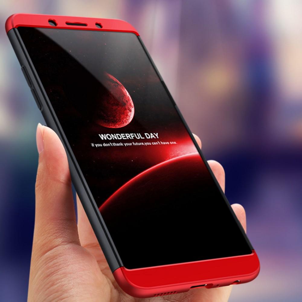 huge selection of 8bf55 23dbb GKK Oppo A83 360 Full Protection Case - Red