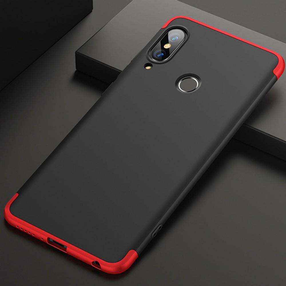 huge discount d1308 246c1 GKK Huawei Nova 3e P20 Lite 360 Full Protection Case - Red