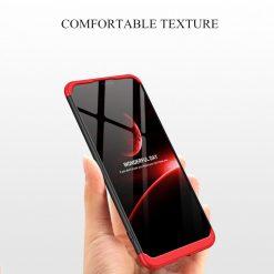 GKK Vivo V9 Y85 360 Full Protection Case - Red