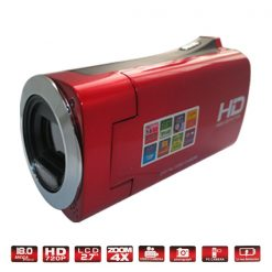 High Definition Digital Video Camera with HDMI - Red