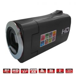 High Definition Digital Video Camera with HDMI - Black