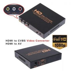 HD Video Converter HDMI to AV Converter