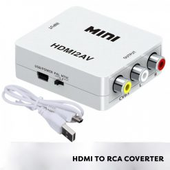 HDMI to AV RCA Converter - White