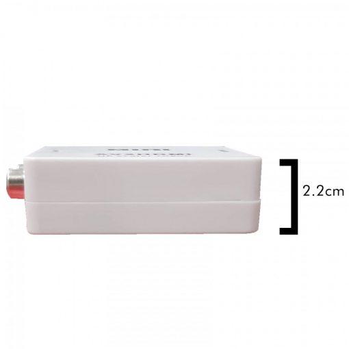 HDMI to AV RCA Converter - White
