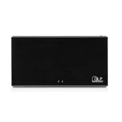 Handheld Rechargeable Multimedia DLP Projector - Black