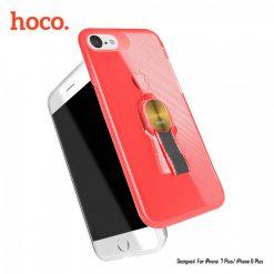 Hoco Cool Brief Case for iPhone 7 Plus / iPhone 8 Plus - Red