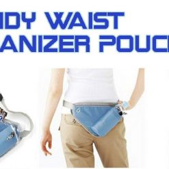 Handy Waist Organizer Pouch for Outdoor Sport Exercise - Blue