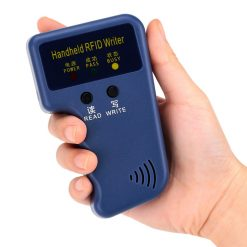 125Khz Handheld RFID Reader and Writer - Blue