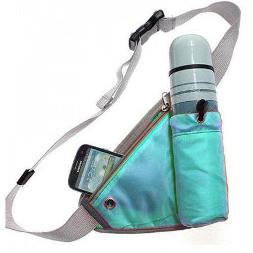 Handy Waist Organizer Pouch for Outdoor Sport Exercise - Green