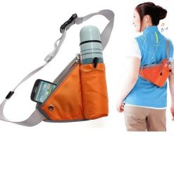 Handy Waist Organizer Pouch for Outdoor Sport Exercise -  Orange
