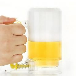 Foam Inducing Beer Mug - Yellow