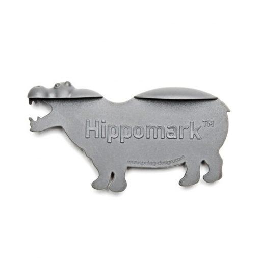 Hippomark Bookmark Safari Design - Gray