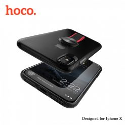 Hoco Cool Brief Case for iPhone X - Black