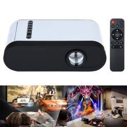 Project Home Cinema Universal Multimedia HD Projector - White