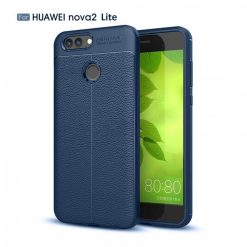 Huawei Nova 2 Lite Autofocus Silicon Back Cover Case - Blue