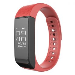I5 Plus Smart Bluetooth Detachable Fitness Watch - Red