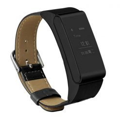Intelligent Wristband And Bluetooth Headset Sport Watch - Black