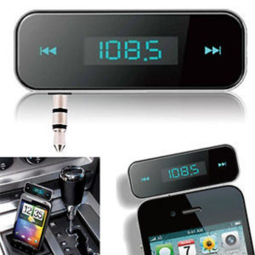 In-car Handsfree and FM Transmitter In Rechargeable Battery