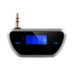 In Car Wireless FM Transmitter Radio Adapter - Black