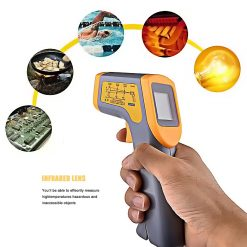 Industrial Laser Thermometer LCD -50°c - 380°c