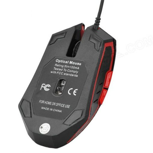 Iron Man 2000 DPI Wired Gaming Mouse - Black/Red