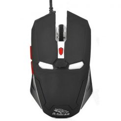 Iron Man 2000 DPI Wired Gaming Mouse - Black / White