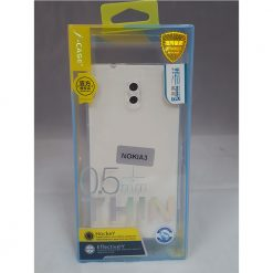 J-Case Ultra Thin Protective Case for Nokia 3 - Clear