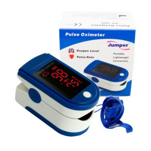 Jumper SpO2 Portable Oximeter - Blue