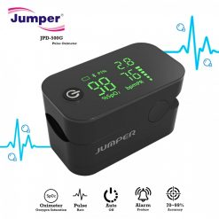 Jumper JPD-500G Pulse Oximeter With Alarm Function - Black