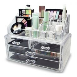 Acrylic Jewelry and Cosmetic Storage Organizer