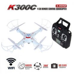Quadcopter with 2.4GHz 4 Channel Remote Control And Wifi Camera - White
