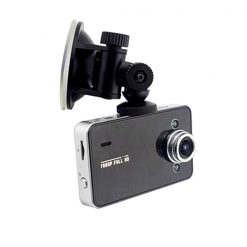 12MP Car Camera Recorder with G-sensor Registrator - Black