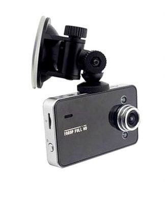 12MP Car Camera Recorder with G-sensor Registrator - Black